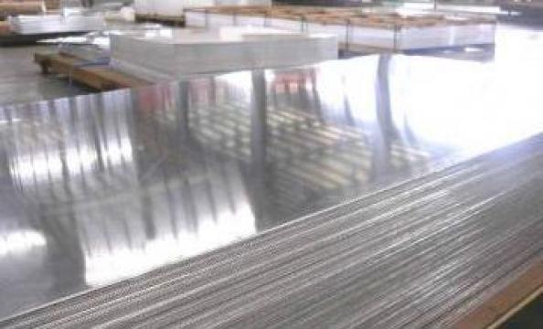 Tabla aluminiu 1.5x2000x4000 mm, Al 99.5%, ENAW 1050 H24 de la MRG Stainless Group Srl