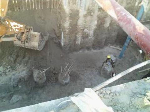 Lucrari de excavatii, demolari de la Com Trans Tudor C Srl