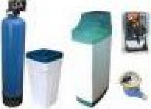 Instalatie filtrare calcar nitrati - azotati bacterii