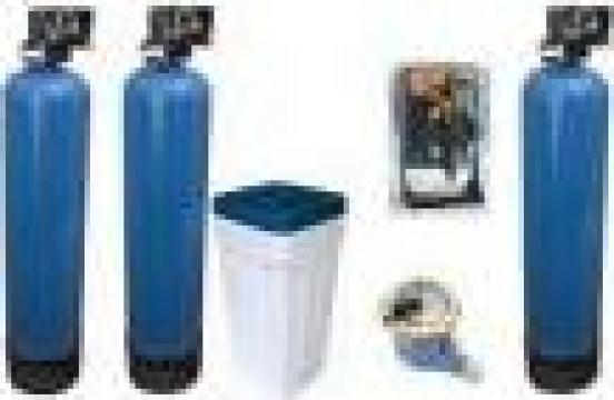 Instalatie filtrare calcar, amoniu, mirosuri, bacterii