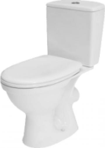 Vas toaleta WC Complet Cersanit Roma (Evac Laterala) R010 de la Baza Tehnica Alfa Srl