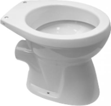 Vas toaleta WC Simplu Neo Roca (Evac Laterala) de la Baza Tehnica Alfa Srl