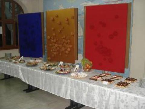 Meniuri catering Constanta, pentru nunta botez, majorat, mot de la Catering Complet Srl.