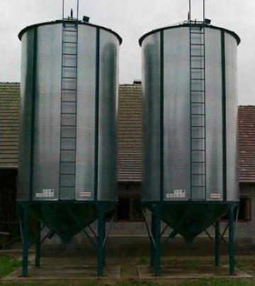 Siloz pentru peleti, cereale si furaje capacitate 22 tone de la Haba Hallenbausatz