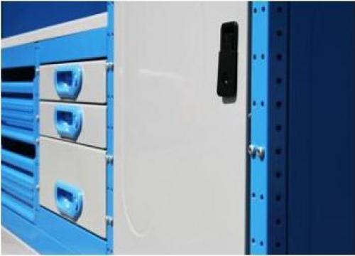 Modul mobilier metalic auto banc de lucru cu sertare for Banc auto