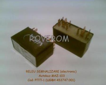 Releu electronic semnalizare Maz-103, 104, 105 (24V) de la Roverom Srl