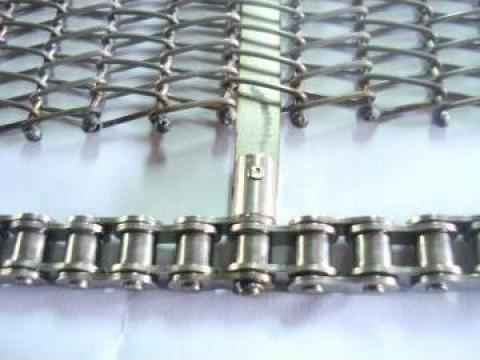 Banda cu lanturi de metal  - Metal Band Conveyor Chain