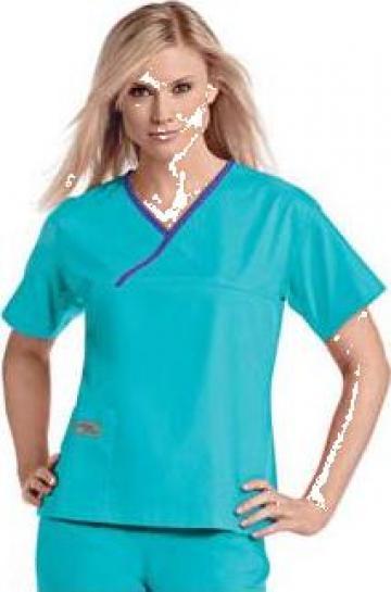 Halat asistenta medicala colorat