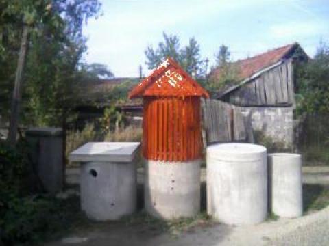 Tuburi beton pentru fantani de la IF Bustan Maria Sorin