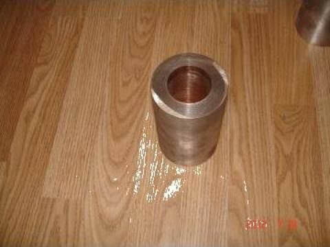 Bucsa bronz echivalent grafitat CuSn10Pb10 de la Baza Tehnica Alfa Srl