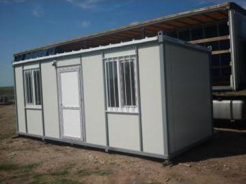 Containere metalice: santier, office, dormitor de la Belvedere Company