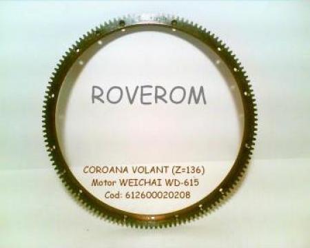 Coroana volant (z=136) motor Steyr WD-615, WP10, WP12