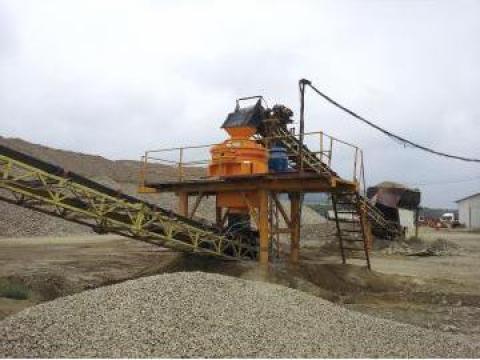 Concasor fix pentru producere nisip VSI Hajek