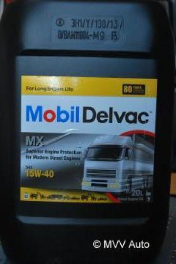 Ulei motor Mobil Delvac MX 15 W 40 - 20 litri de la Mvv Logan Auto Srl