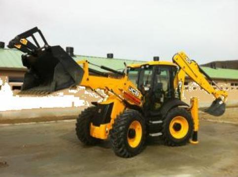 Inchiriere buldoexcavator Cluj de la Rg Constructii Civile