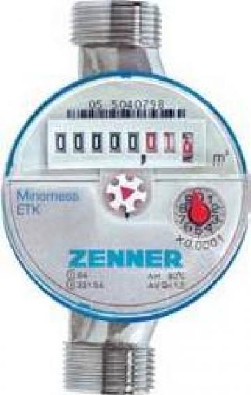 Apometre de apa rece/calda Zenner DN 15, DN 20