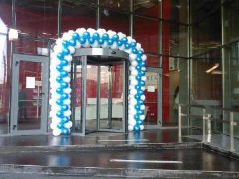 Arcada din baloane pt nunti de la Sabine Decor Shop Srl-d