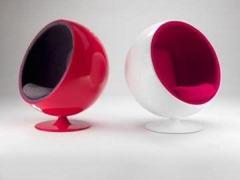 Scaun bar Ball chair de la Settimo Concept