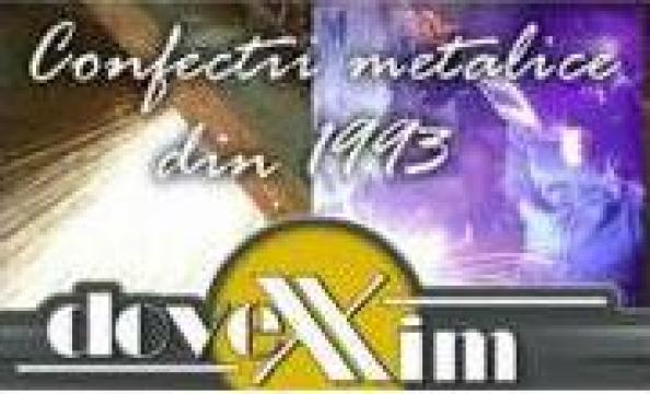 Gratare metalice zincate Dovexim