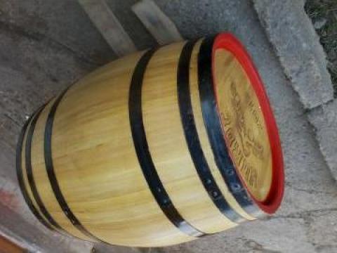 Butoaie lemn 200 litri de la PFA Bratu Catalin