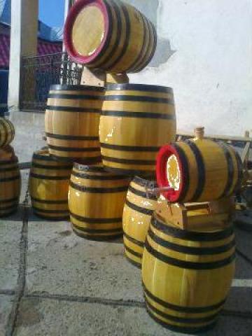 Butoaie lemn 10-50 litri de la PFA Bratu Catalin