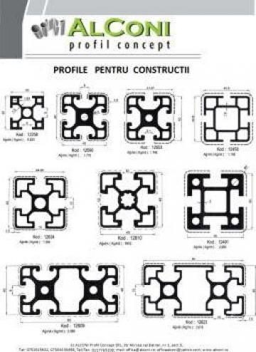 Profile industriale pt. constructii