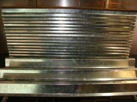 Panou metalic opturare lumina cu circulatie libera de aer