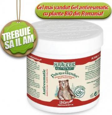 Gel antireumatic Puterea Ursului cu plante Bio Krauter de la Life Care Bio