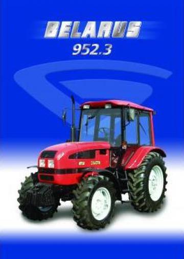 Tractor Belarus MTZ de la Solarker Oltenia