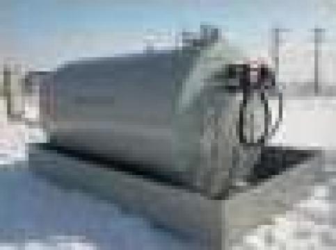 Rezervor motorina monoperete cu pompa simpla 3500 litri de la Simba's Group Srl