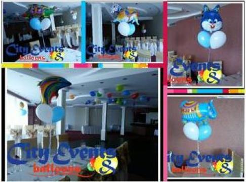 Baloane heliu de la City Events & Balloons Srl.