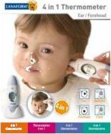 Termometru digital pentru ureche si frunte de la