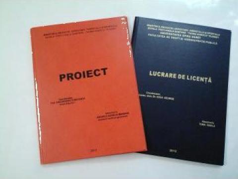 Coperti pentru proiecte diploma, licenta, disertatie de la Buratino Edit Srl