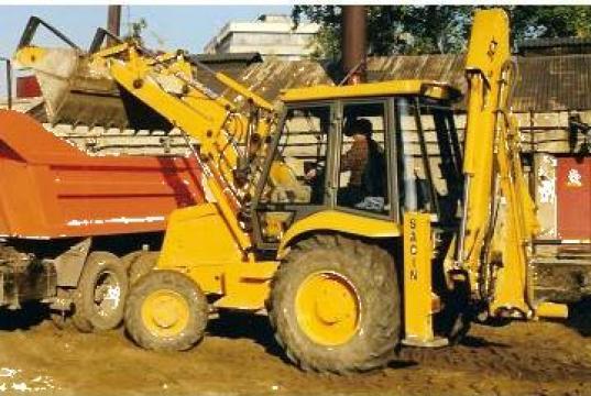 Buldoexcavator JCB 3CX de la Sacin Srl
