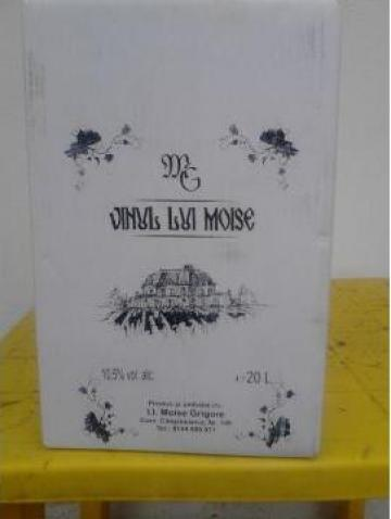 Vin de masa, alb si rosu Vinul lui Moise de la Intreprindere Individuala Moise I. I. Grigore