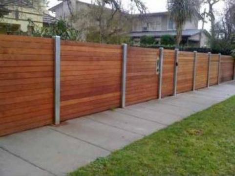 Panouri gard lemn