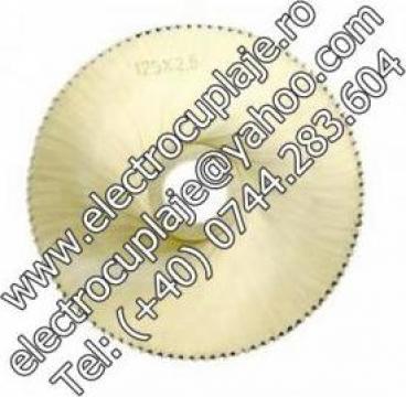 Freze disc HSS dantura A, DIN 1837 de la Electrofrane
