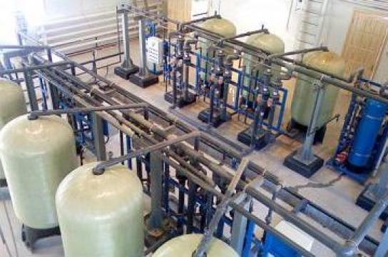 Statie tratare apa de la AquaSystems Group