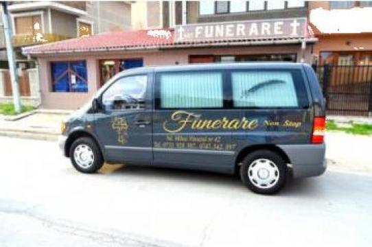 Transport funerar de la Funerare Drobeta Turnu Severin
