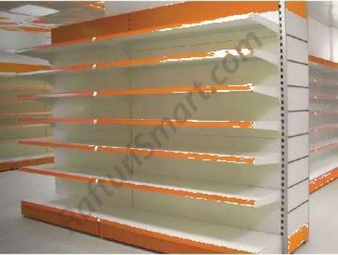 Rafturi metalice pentru magazine