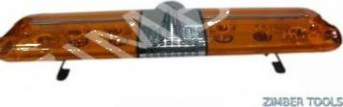 Rampa luminoasa - rampa girofar + sirena - 24V de la Zimber Tools