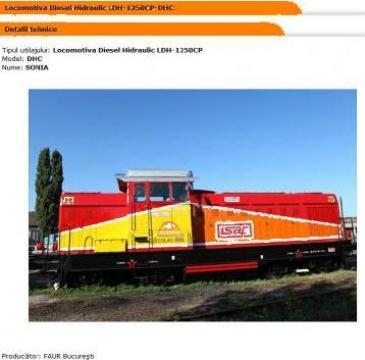 Locomotiva Diesel Hidraulic LDH-1250CP