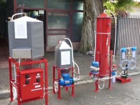Instalatie obtinere biodiesel 10000 L /24 ore de la Gamm Productie Servicii Comert Srl