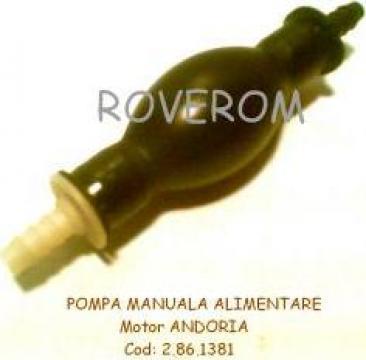 Pompa manuala alimentare motor Andoria