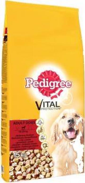 Hrana caini Pedigree Uscat Pasare&Legume, 15 Kg de la Petshop Boutique
