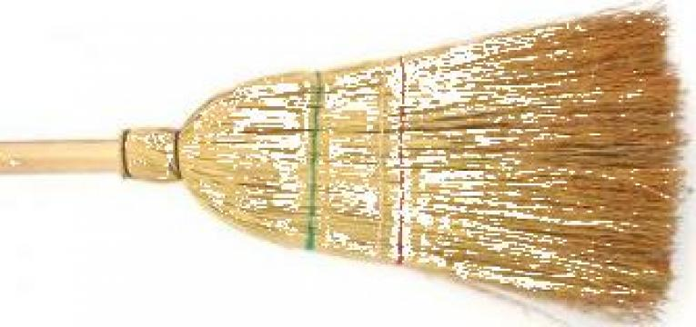 Matura sorg (paie) cu coada lemn