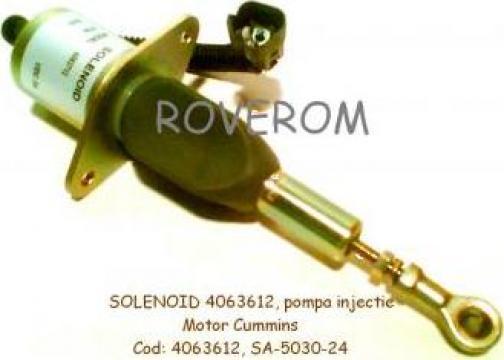 Solenoid 24V, pompa injectie Cummins 6CT, Komatsu D61EX-15