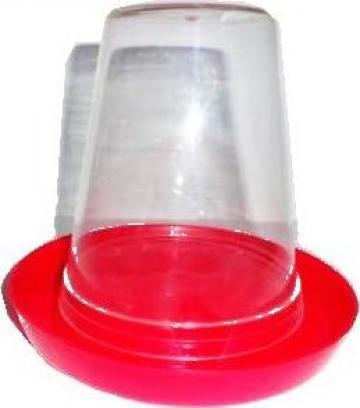 Adapator plastic pui de prepelita la sol 600ml