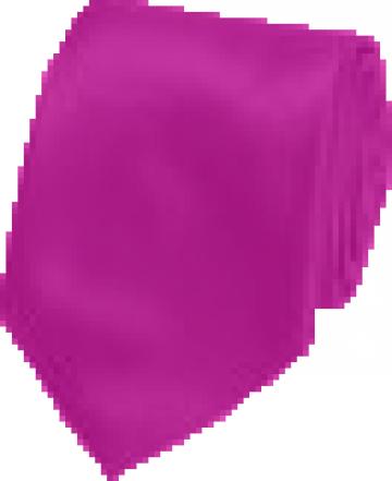 Cravata roz matase