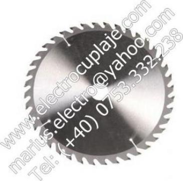 Panza circulara placata 400 x 30 mm 40Z de la Electrofrane